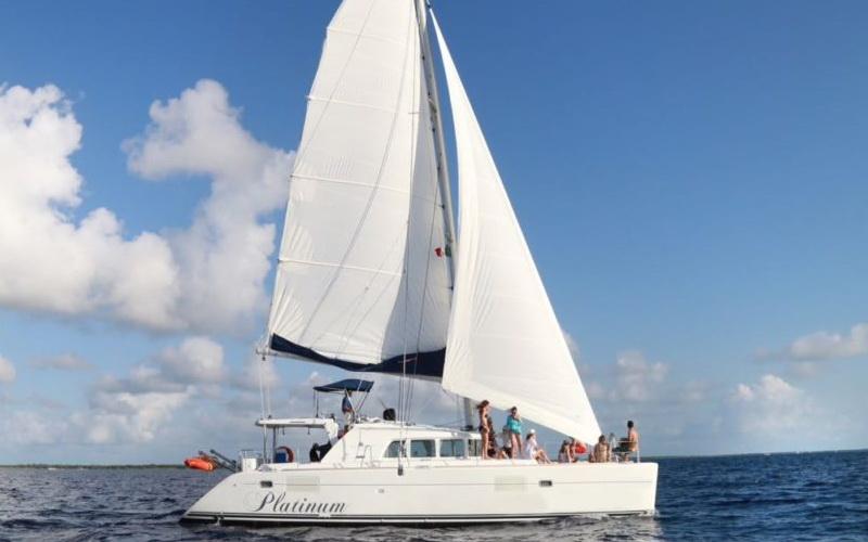 Luxury Catamaran 45 for rent