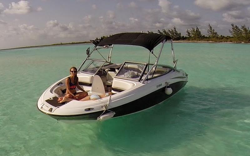 Cozumel sport boat for rent