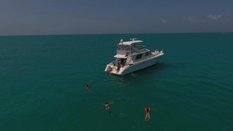 Sea Ray with Fly Bridge yacht
