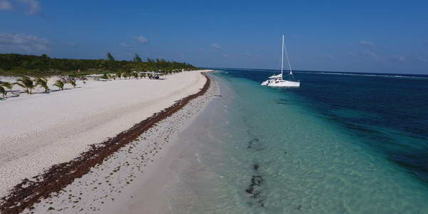 Maroma Catamarans and Fishing boats