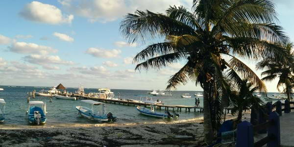 Puerto Morelos Fishing Boats
