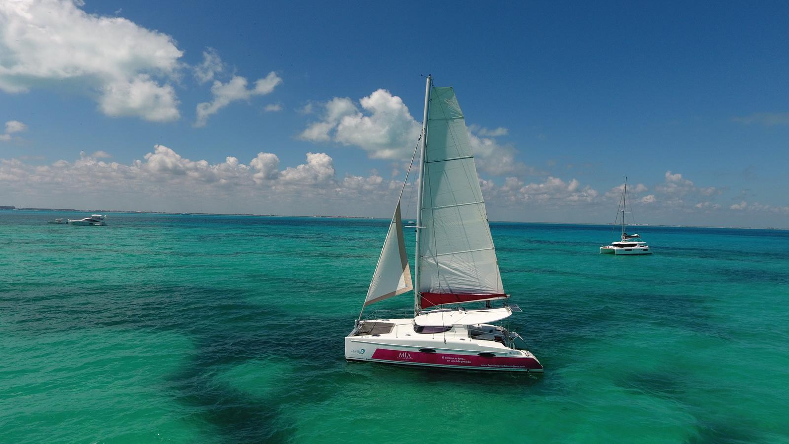 Isla Mujeres Catamaran Playa Norte