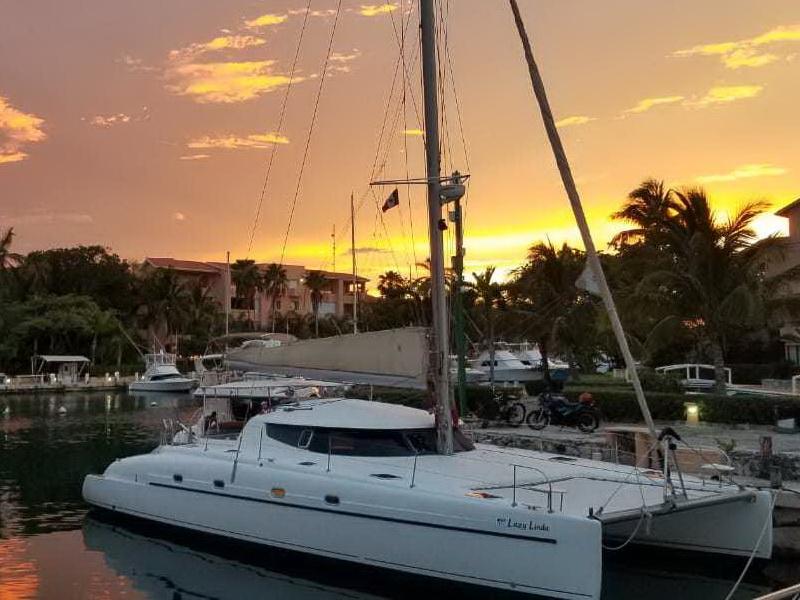 Catamaran en Riviera Maya
