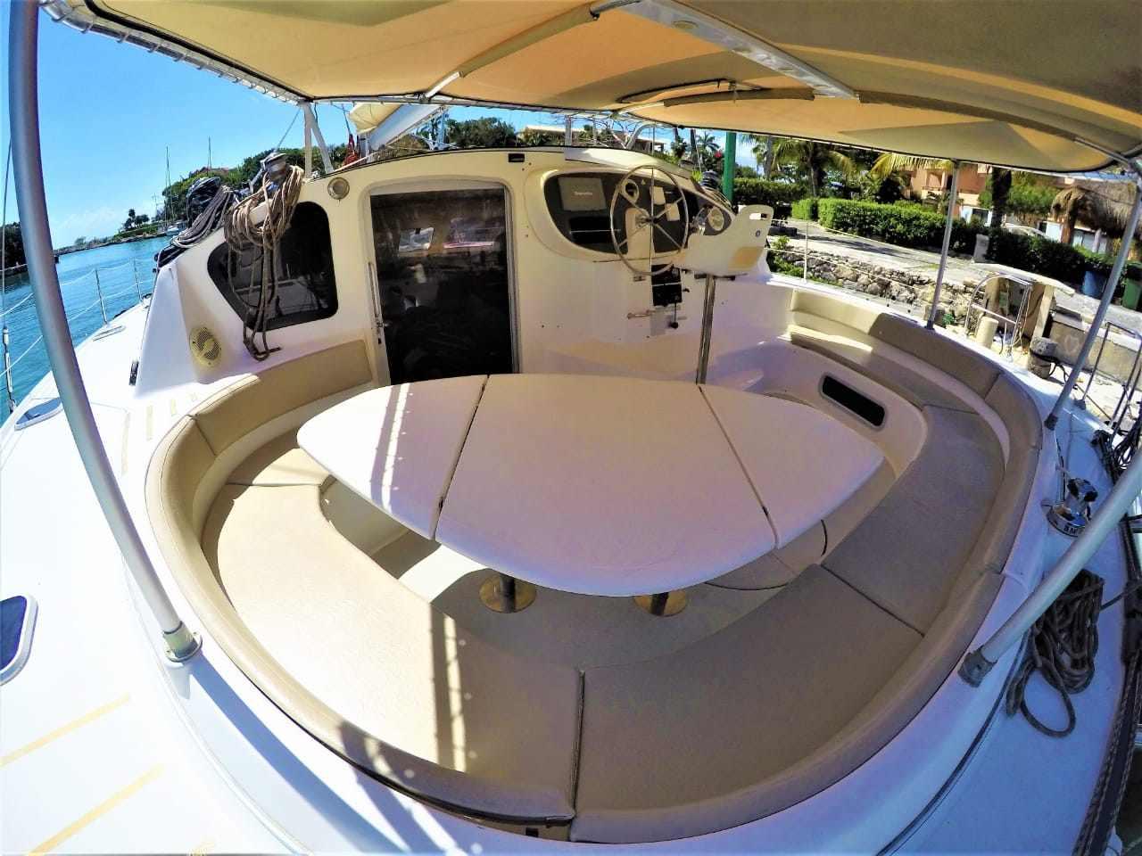 Catamaran rent at Riviera Maya