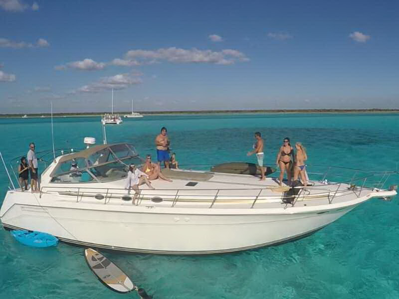 SeaRay Yacht Riviera Maya